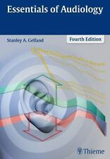 ESSENTIALS OF AUDIOLOGY - GELFAND, STANLEY A., PH.D. - NEW HARDCOVER BOOK