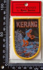 VINTAGE KERANG VICTORIA EMBROIDERED SOUVENIR PATCH WOVEN CLOTH SEW-ON BADGE