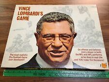 Vintage Vince Lombardi's Game Original Board Game Football 1971