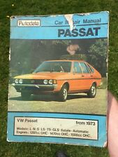 Autodata Car Repair Manual - VW Passat Classic 1973 Pre Haynes