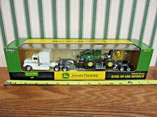 John Deere 648G-lll Log Skidder Hauling Set By Ertl 1/64th Scale >
