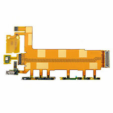 Main Motherboard Mic Volume Power Button Flex Ribbon Part Fix for Sony Xperia Z3