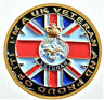 BRITISH ARMED FORCES VETERAN STICKER I'M A UK VETERAN AND PROUD OF IT. CAR VAN