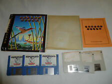 AMIGA COMPUTER PC GAME CHRONO QUEST W MANUAL PSYGNOSIS 1988 VINTAGE 3 DISC RARE