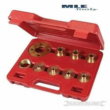 Guide Bush Set 10pce cutter woodwork joinery router plate Silverline S245122