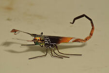 Toy Scorpion African Recycle Mulit Color Tin Can Tanzania Vintage Toy