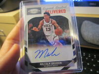 2018-2019 PANINI CERTIFIED MALCOLM BROGDON SIGNED, SEALED AND DELIVERED AUTO #49