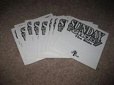 Sunday Funday - Nintendo NES - MANUAL ONLY - New Wholesale Lot of 10