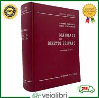 Torrente Schlesinger MANUALE DI DIRITTO PRIVATO giuffrè libro giurispridenza