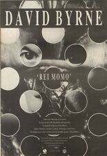 14/10/89Pgn42 Advert: 'rei Momo' New From King Of Carnival David Byrne 10x7
