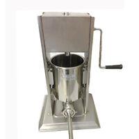 Commercial Sausage Stuffer 10 Litre Stainless Steel Filler Maker Machine Ten L