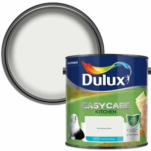 Dulux Easycare Kitchen Matt Paint for Walls and Ceilings 2.5l All Colours