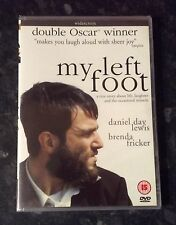 MY LEFT FOOT (DANIEL DAY LEWIS) REGION 2 DVD BRAND NEW & SEALED  FREE POST