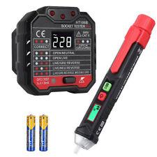 Non Contact Voltage Tester Pen 1248v 1000v Outlet Tester Voltage 48v 250v