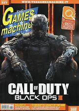 The games machine 2015 327# gall of Duty-Black Ops III, fall-out 4, Starcraft II, the
