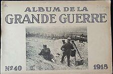 Album imprimé en  photographié en noir et blanc en édition allemand N°40 1918 A5