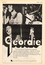 Geordie Hope You Like It UK LP advert 1973