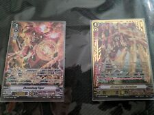 Cardfight Vanguard! Gear Chronicle Chronofang deck. 1 SP & 1 SVR!!!