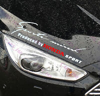 ☆New☆ Headlight Eyebrow Car Stickers Decals Graphics Vinyl For Honda (White)