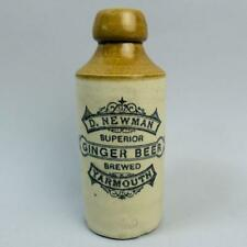 VICTORIAN D. NEWMAN YARMOUTH GINGER BEER BOTTLE C.1890