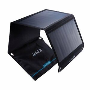 Solar Panel, Anker 21W 2-Port USB Portable Solar Charger with Foldable Panel,