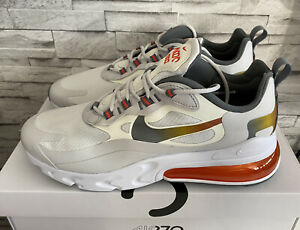 Nike Air Max 270 React SE * Schuhe Sneaker * Weiß Gold * Gr. 43 * NEU