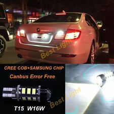 2x White Error Free LED Reverse Back up Light Bulb For Bmw F01 F02 F03 F04 08-15