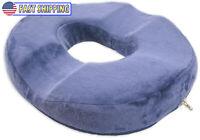 Orthopedic Donut Seat Cushion Memory Foam Cushion Tailbone & Coccyx Memory Foam