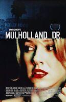 "Mulholland Drive movie poster (a)  : 11"" x 17""  : David Lynch, Naomi Watts"