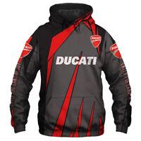Ducati Corse/Monster/Hypermotard/Diavel Hoodie - Free shipping-Top Men's shirts