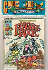 MARVEL FRAGGLE ROCK HEATHCLIFF STRAWBERRY SHORTCAKE #1 PRE-BAGGED 3 PACK SET!