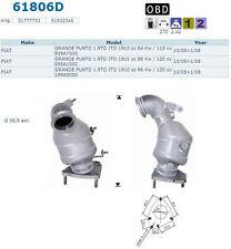 Pot catalytique Fiat Grande Punto 1.9 JTD 1910cc 115cv 939A7000 10/05>1/08, anté