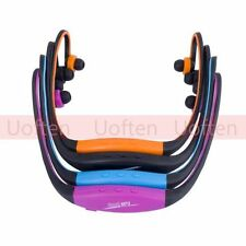 Sports Wireless Headphone Earphone Headset MP3 Player Support UP for 8GB MicroSD