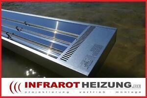 Infrarotheizung Hallenheizung Werkstattheizung 3000W Elektroheizung Strahler