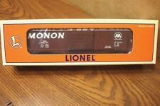 "LIONEL 6464 BOXCAR MONON ""HOOSIER LINE"" 6-19289 O Gauge"