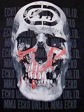 ECKO UNLTD UNLIMITED / SKULL RHINO PRINT / MMA / BLACK T-SHIRT SIZE M