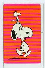 "Single Playing Cards Pin Up ""Peanuts, Snoopy"" Hallmark 1607 G"