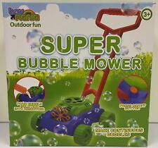 Super Lawn Bubble Mower Bubbles Machine Blower Garden Party Summer Toy