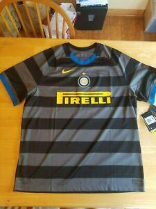 Nike Inter Milan Season 2020 - 2021 Third Soccer Jersey Brand New XXL 2XL