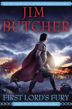 First Lord's Fury Bk. 6 by Jim Butcher (2009, Hardcover)