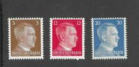 MNH Adolph Hitler postage stamps / WWII Germany / 1941 Third Reich issues MNH