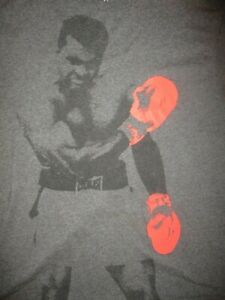 MUHAMMAD ALI T SHIRT Boxing Retro Cassius Clay Float Like A Butterfly Taunt MED