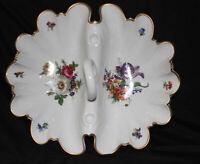 Gerold Porzellan Handled serving Tray Hand Painted Bavaria W. Germany