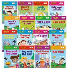 16 Word Family Readers by Scholastic (16 Paperback Set)