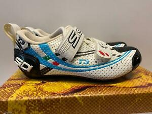 new Sidi T3 Triathlon WOMENS Road SHOE 39 US size 7 white