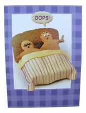 Fred & Ginger Joke BLANK card 'Oops!' by Great British card company