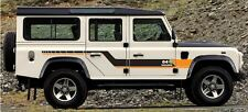 LAND ROVER DEFENDER 110 Aftermarket DECAL G4 CHALLENGE Stripes Sticker SET