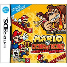 DS Mario VS Donkey Kong Mini-land Mayhem Lite DSi 3ds Nintendo PAL UK Version