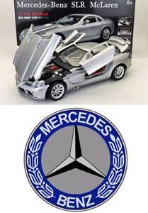 LAST 1:12 Mercedes-Benz SLR McLaren MotorMax +MERCEDES STICKER+BOOK n cmc exoto
