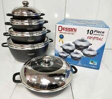 Cookware Set 10 Prices Dessini Imperial Non Stick Die-Cast Aluminium